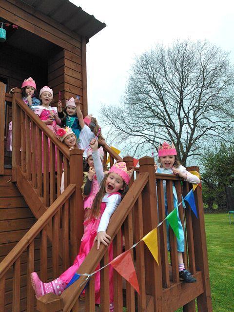 Mini princesses in Birdhill
