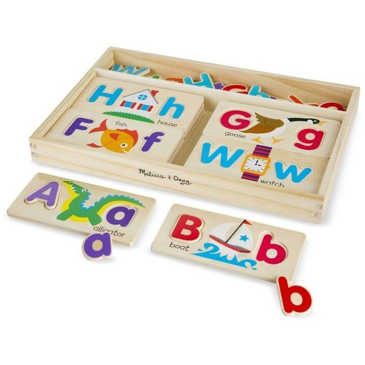 Educational Toddler Toy 4-6 Years Sided Wooden Picture Boards Learning Play #easy_shopping08