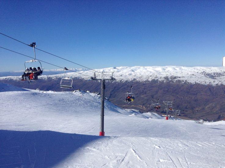 @zoeearnshaw Cardrona ski field NZ