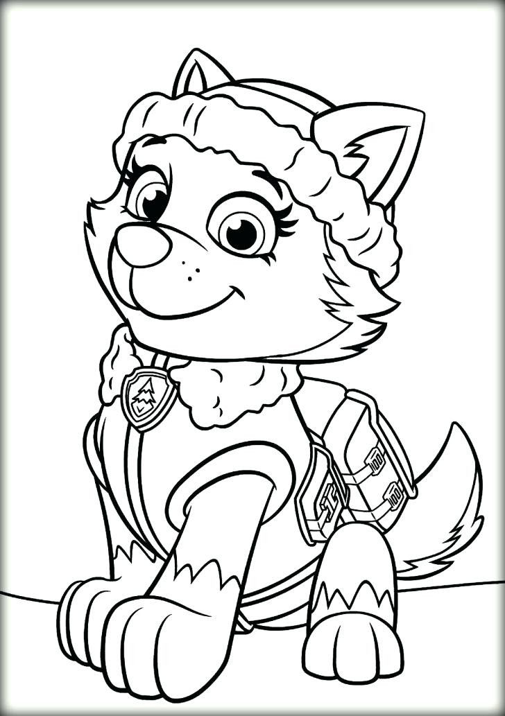 Tracker Paw Patrol Coloring Page Youngandtae Com In 2020 Paw Patrol Coloring Pages Paw Patrol Coloring Paw Patrol Christmas
