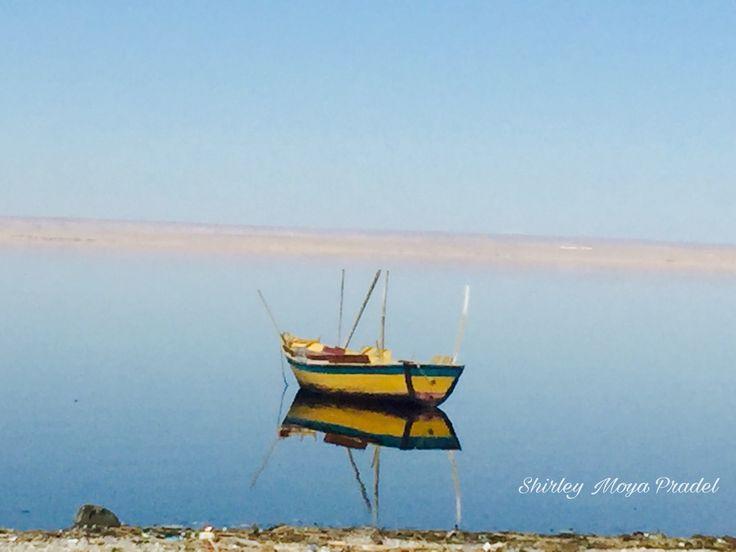 """Espejos"" Qarun lake, Fayoum Egypt"