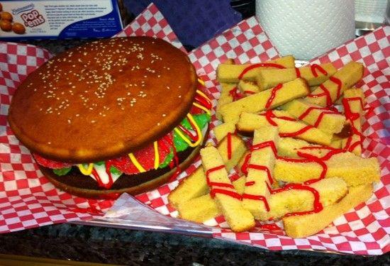 Hamburger Cake 15