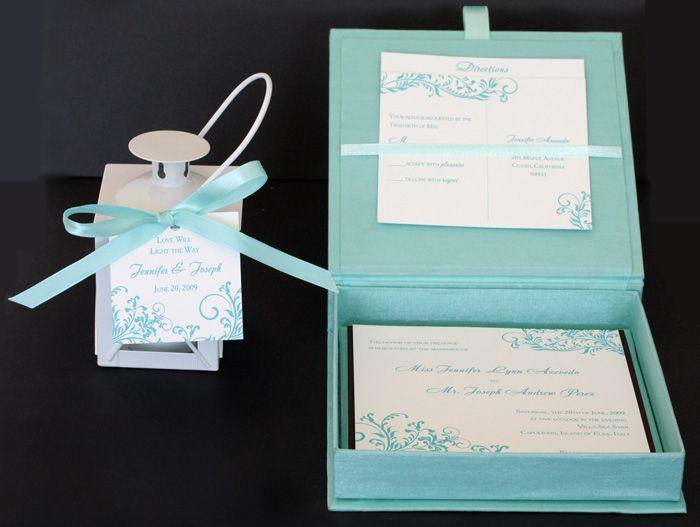 Unique wedding invitations box ideas newsinvitation find this pin and more on invitations programore beautiful wedding box stopboris Images