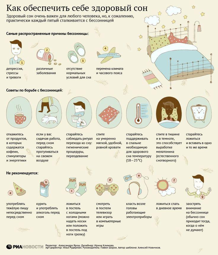 Как обаспечить себе здоровый сон