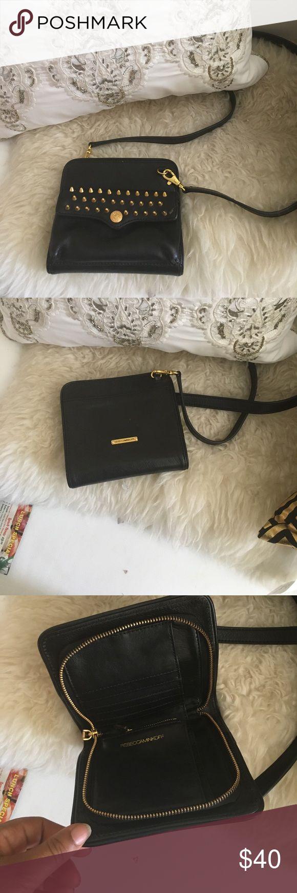 Rebecca Minkoff purse Rebecca Minkoff black leather purse bag Bags Mini Bags