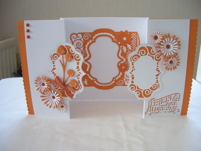 Another day, another card: Flip flop, easel and frames