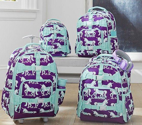 For Mia - Mackenzie Plum Unicorn Backpacks | Pottery Barn Kids
