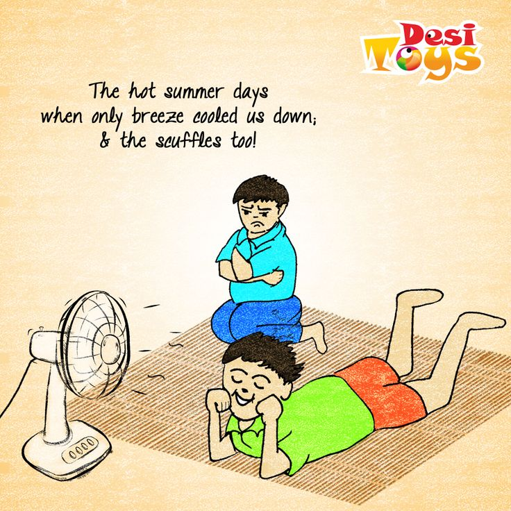 We all had those cousins who bullied us! #Summer #Summervacations #Fan