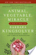 Animal, Vegetable, Miracle - Author Barbara Kingsolver and her family vowed that, for one year, they'd only buy food raised in their own neighborhood, grow it themselves, or learn to live without it. Part memoir, part journalistic investigation.