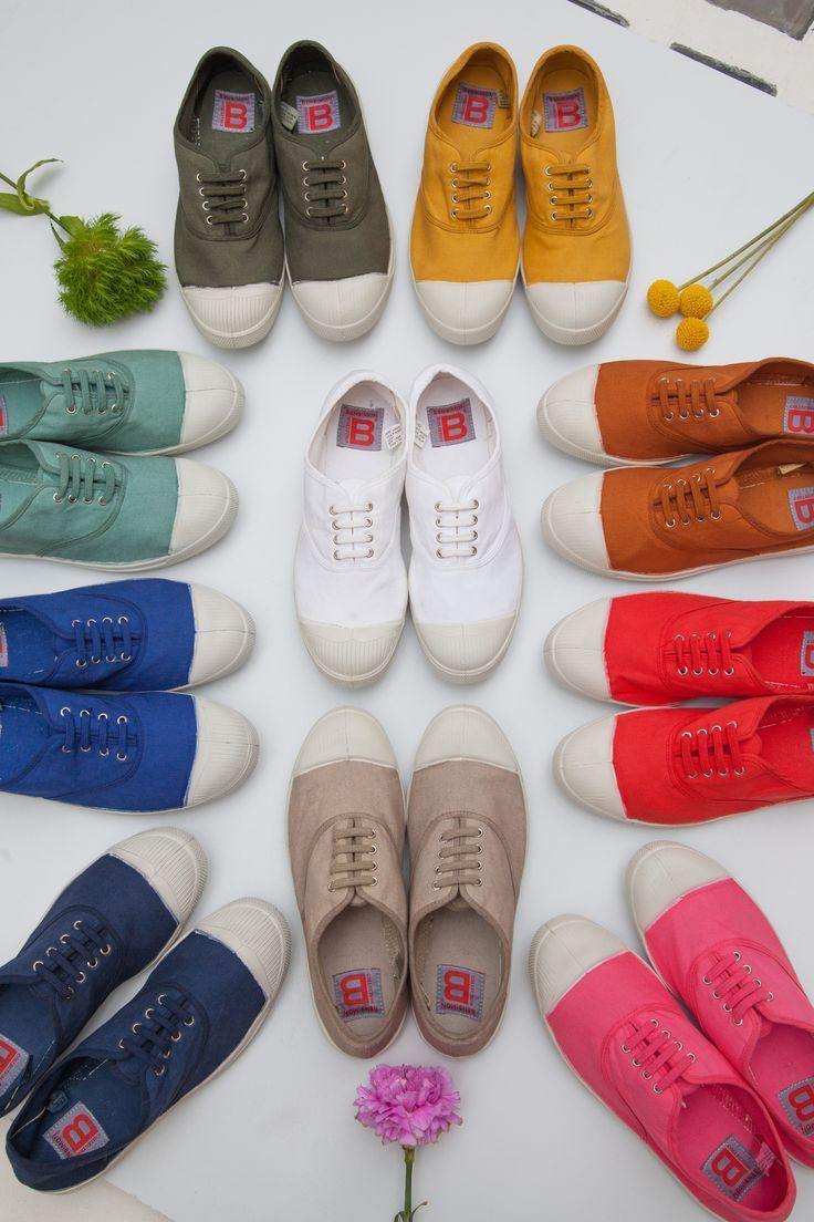 7ef73bcbf25f87 Tennis - Les Originales www.bensimon.com #bensimon #shoes #colors  #springcollection #tennis #loriginale #basic #onlyone