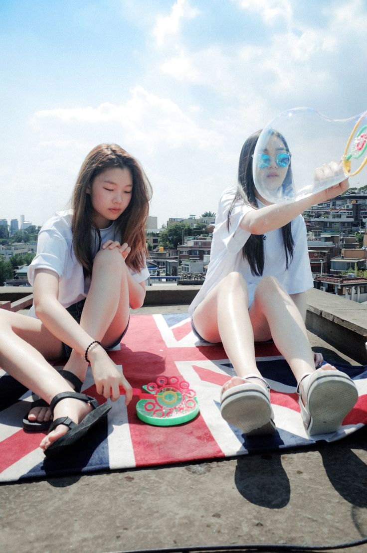 Bubble girl Kstyle @jacintachiang