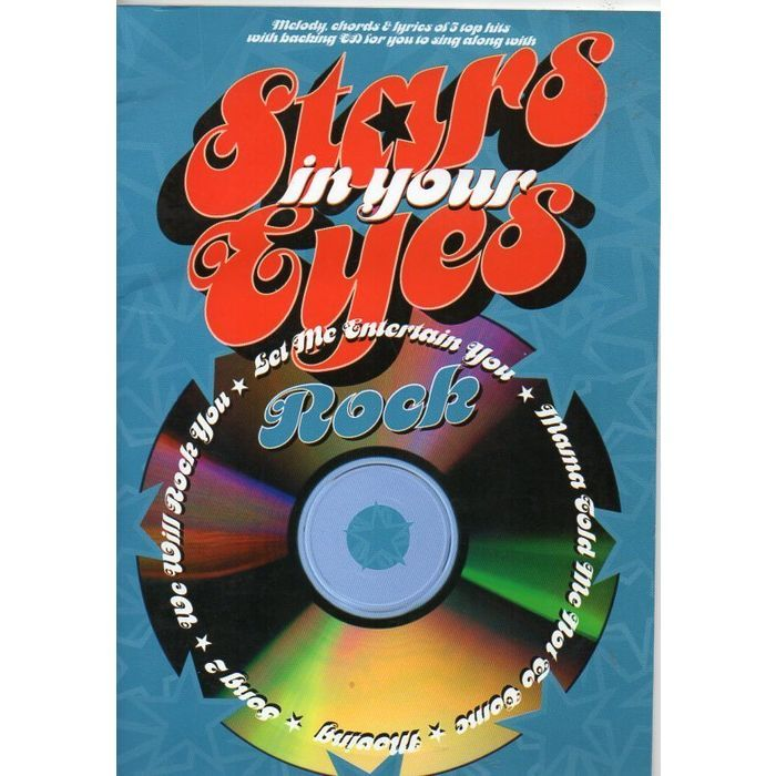 Stars In Your Eyes Rock Sing Along Melody Chords Lyrics Sheet Music Book plus CD Listing in the Contemporary,Sheet Music & Song Books,Musical Instruments & Gear Category on eBid United Kingdom | 158754046