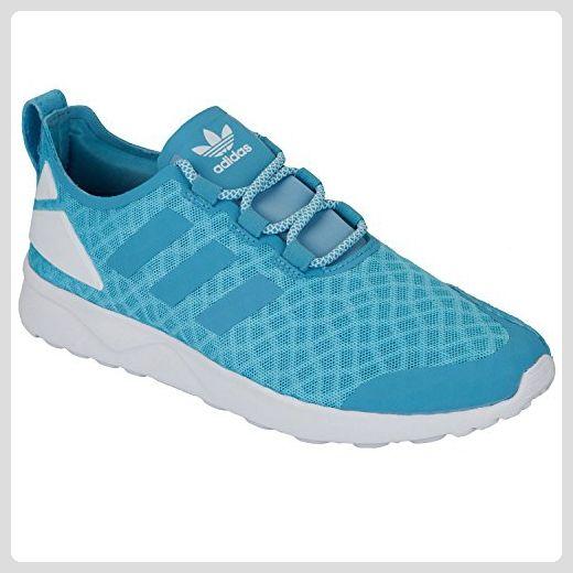 adidas Damen ZX Flux Adv Verve Sneakers, Blau (Blanch Sky/Blanch Sky/Core White), 37 1/3 EU - Sneakers für frauen (*Partner-Link)