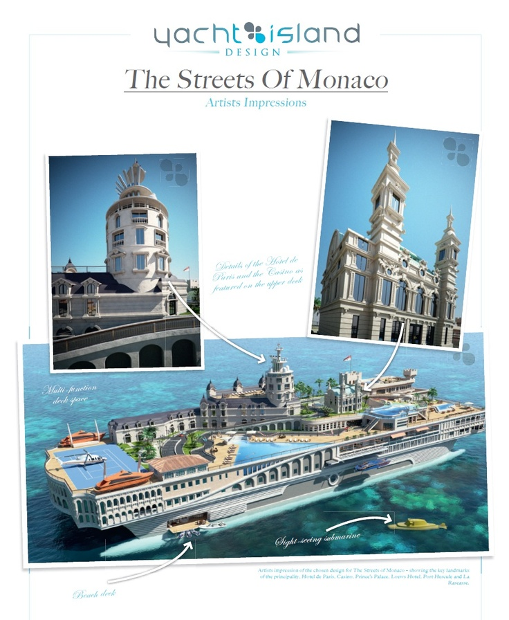 Yacht Island Design streets of monaco yachtyacht island design | boats, ships