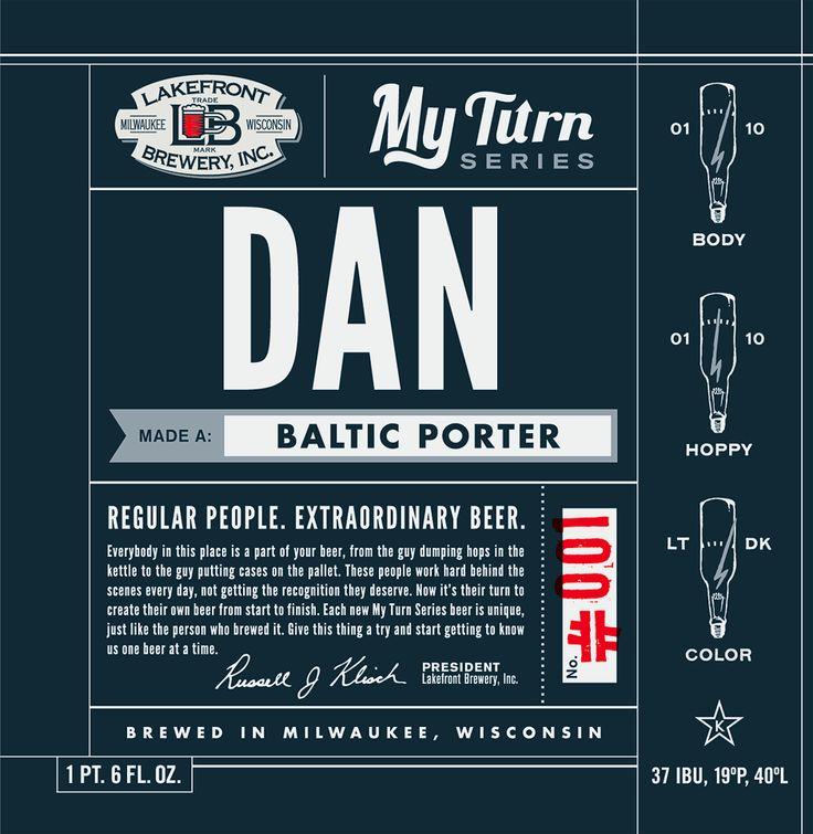 Lakefront Brewery's My Turn Series: Beautiful Beer,  Internet Site, Bottle Labels,  Website, Beer Bottle, Beer Labels, Beer Design, Beer Branding, Beer Packs