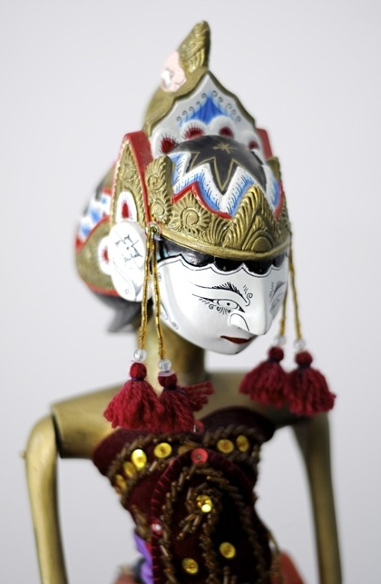 wood puppet - Indonesia - have this from Yogyakarta