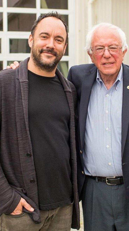 Bernie Sanders & Dave Matthews