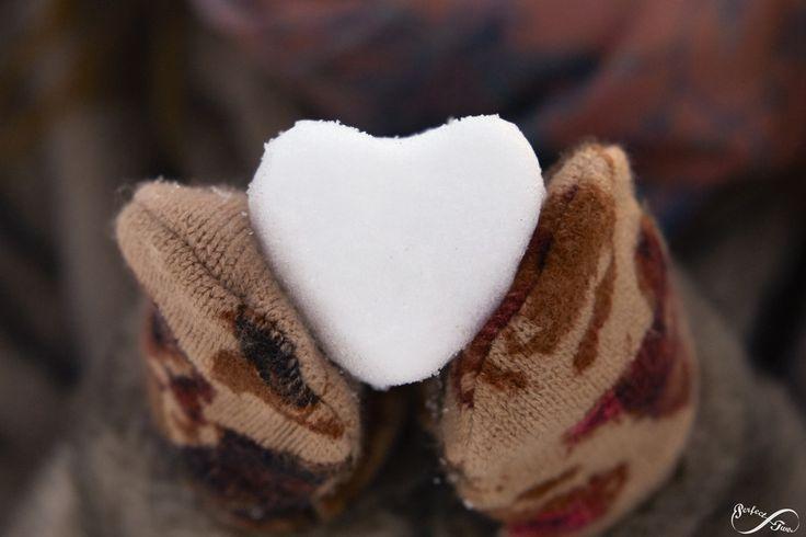 Winter Portrait - Love - Heart