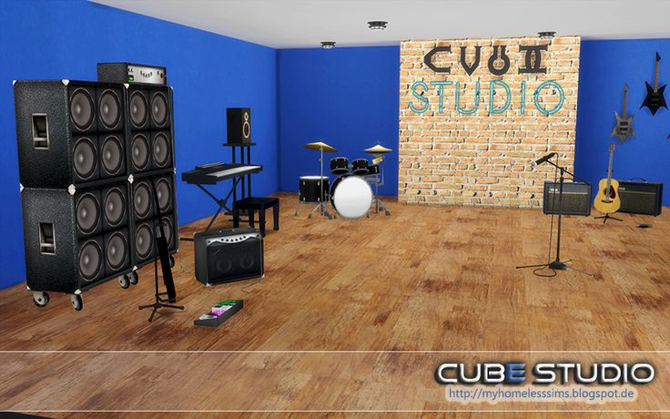 "from the lot ""Cube Studio"""