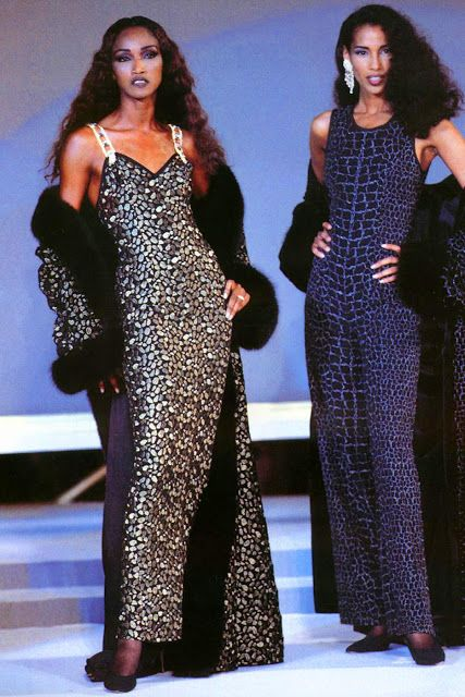 Gai Mattiolo 1995 show feat……………..Katoucha Niane & Sonia Cole