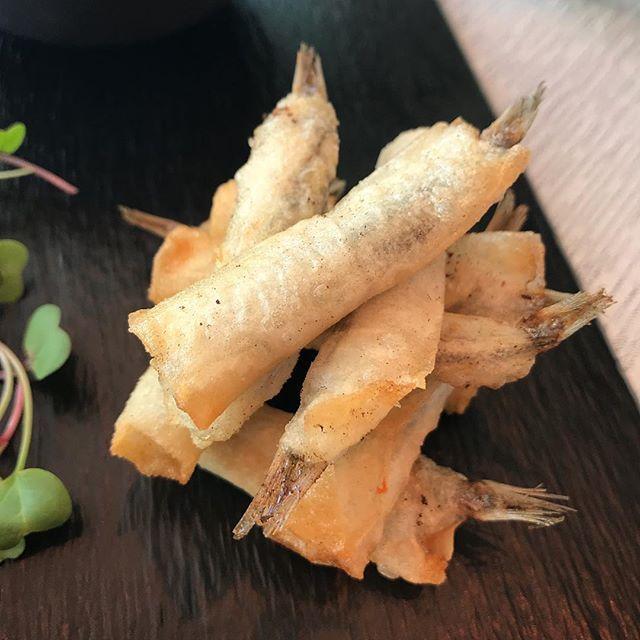 Manojitos de Boquerones fritos.   #málaga #Fish #pescado #cocinatradicional