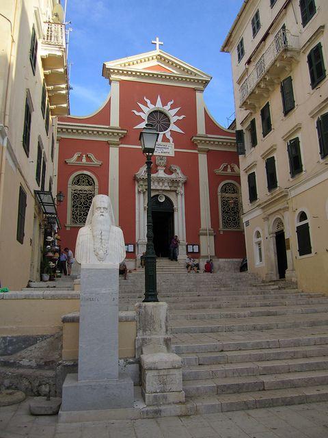 Church in Corfu Town