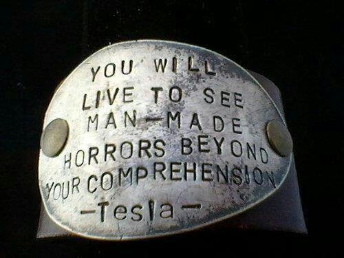 Not only a Genius, but a very Truthful one...Thank you Tesla.