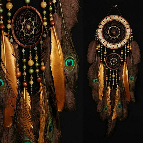 Brown yellow Dreamcatcher onyx yellow mosaic Dream Catcher Large Dreamcatcher New Dreamсatcher gift NEW YEAR boho dreamcatchers wall gift    time the manufacture of this product 12 working days      This amulet like Dreamcatcher - is not just a decoration of the interior. It is a powerful amulet, which is endowed with many properties:    - Dreamcatcher protects and ensures a healthy sleep to the owner;    Dreamcatcher  helps in practice lucid dreaming. It helps to recognize  himself in a…