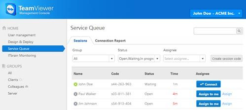 ServiceQueue screenshot