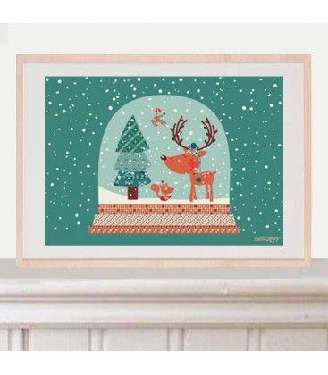 lamina infantil bola magica de navidad 2