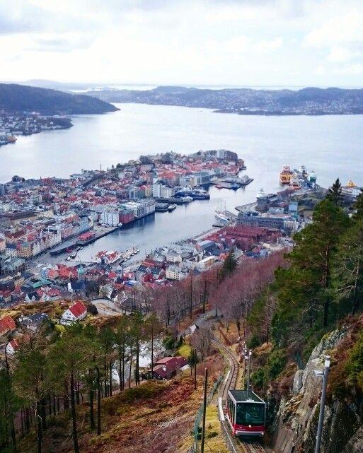 Fløyen, Bergen, Norway