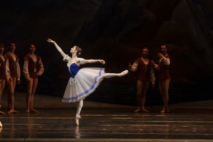 """Maria Kochetkova is the Principal Dancer with San Francisco Ballet and the Bolshoi's """"Reflections"""" project. Former dancer with English National Ballet and The Royal Ballet in London."""