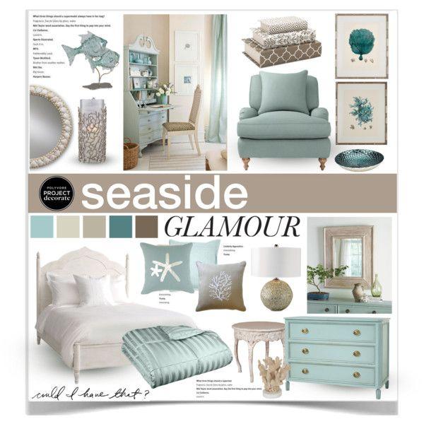 17 best images about coastal glam on pinterest for Glam interior design