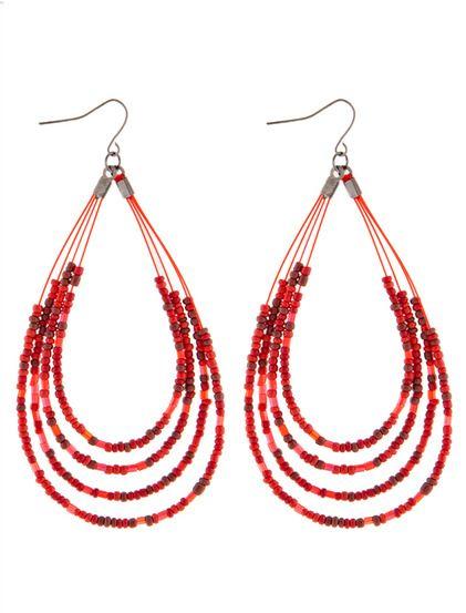 Σκουλαρίκια Μαίρη -  Κομψά σκουλαρίκια που είναι κατάλληλα και για κάθε μέρα. Το μοντέλο αποτελείται από χάντρες. #skoylarikia #accessories . 2.99 €