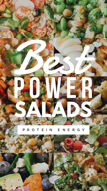35 Best Power Salads: Protein Energy – Salads
