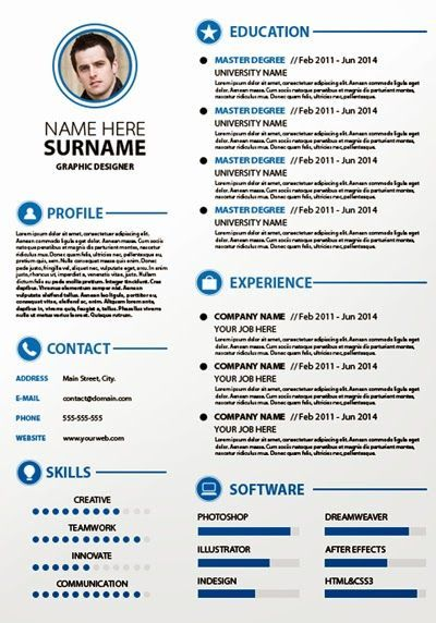 28 best curriculum images on Pinterest Curriculum, Resume - show me a resume example