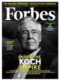 Inside The Koch Empire: How The Brothers Plan To Reshape America  This story appears in the December 24, 2012 issue of Forbes.