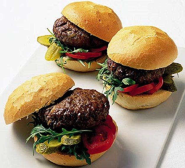 """Let's bring the word ''tasty"""" to a whole new level with these tasty homemade burger recipes. Here's an easy to follow recipe on how to make homemade burgers"""