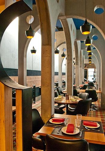Great decor!  NEWMARKET HOTEL ST KILDA - Restaurant Menu Paul Wilson Inspired Californian Cuisine Dining