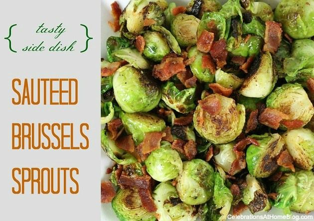 sauteed brussels sprouts with bacon