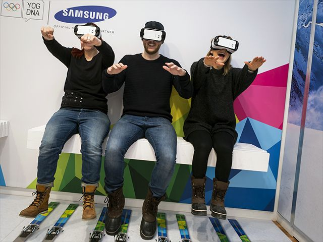 Samsung : World's First-Ever Olympic Games Virtual Reality Live Streaming during Lillehammer 2016 Winter Youth Olympic Games - No Web Agency