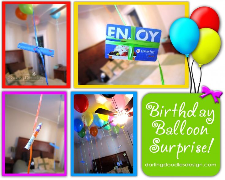 Birthdays, fill a room with balloons for them to wake up in with notes, gift cards/dollar bills tied to the end of some of the balloon strings