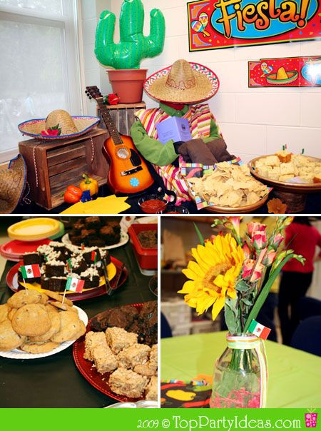 Mexico: Mexican Birthday Party, Cinco de Mayo Party or Mexican Theme Party