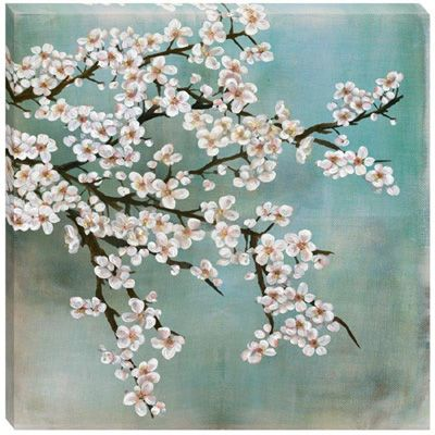 35 best images about seventh avenue on pinterest for Best brand of paint for kitchen cabinets with cherry blossom canvas wall art