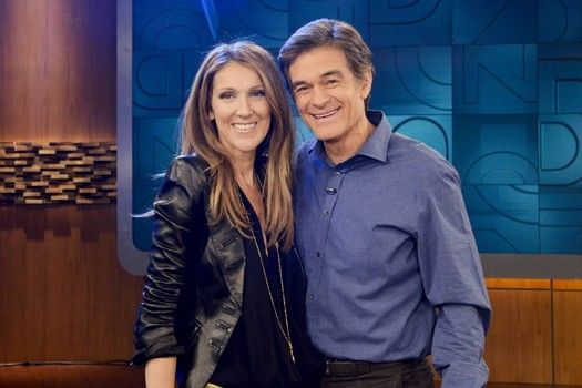 Celine Dion chats with Dr. Oz for the first time to promote new album
