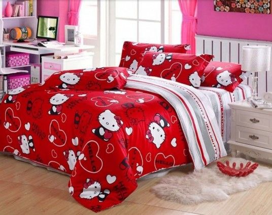 1000 ideas about hello kitty bedroom on pinterest hello. Black Bedroom Furniture Sets. Home Design Ideas