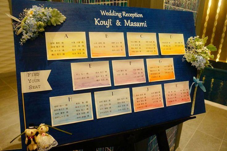 いいね!11件、コメント1件 ― @t.n.0312のInstagramアカウント: 「昨日は大切な友達の結婚式席次ボードを作らせていただきました  #結婚式 #席次ボード #エスコートボード #席次表 #wedding #エスコートカード」