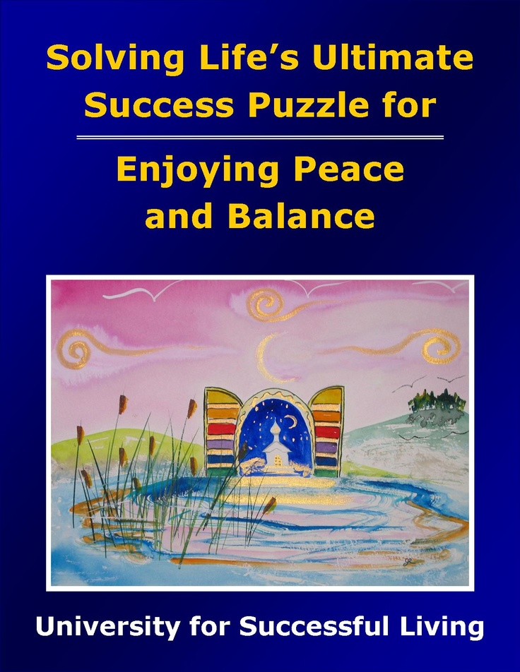 "Enjoying Peace and Balance will guide you in taking practical steps toward creating a wonderful balance in your life, even in the midst of challenging circumstances. You will find that it really is possible to nurture the spirit of peace and keep your life in balance. This interactive ""how to guidebook"" includes insightful self-discovery exercises that will help you create a beautiful, stress-free environment and enjoy a life filled with peace and balance."
