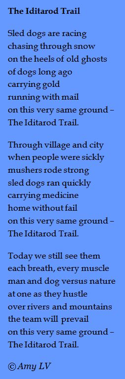 Stone Fox  poem