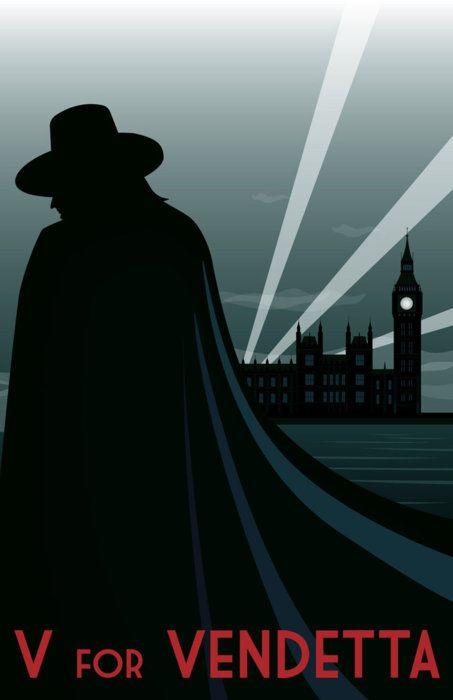 V For Vendetta by chinoviceral  gofarandaway's request